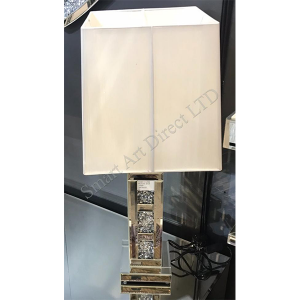 3 Bar Table Lamp with Deluxe Shade