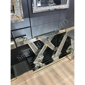 Crushed Diamond VW Console Table