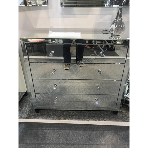 Mirror Glass 2 + 3 Drawer Chest