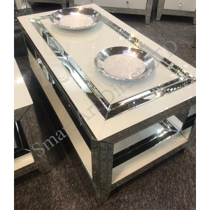 Bianco 2 Tier Coffee Table