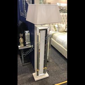 Bianco Floor Lamp & Deluxe Shade