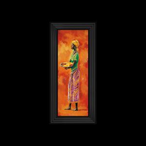 African Lady IIII