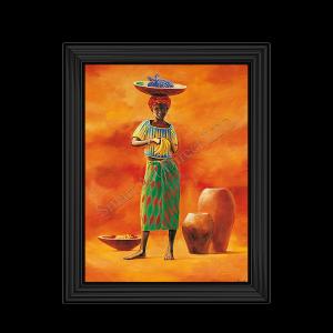 African Lady VI