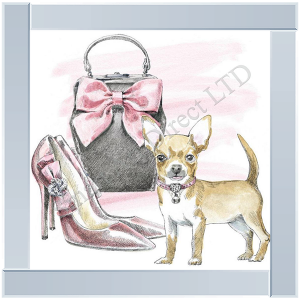 Chihuahua Bag & Glamour Shoes