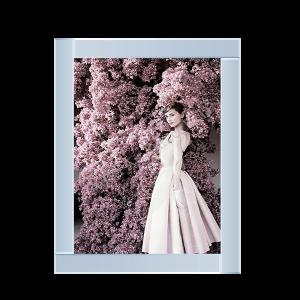 Audrey Hepburn Pink Dress