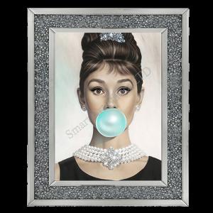 Audrey Hepburn Bubblegum I