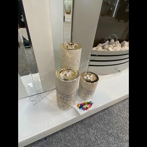 Pillar Tealight Candle Holder Set