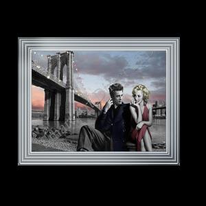 James Dean & Marilyn Monroe Brooklyn Bridge