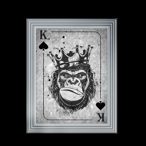 Chimp Crown King of Spades II