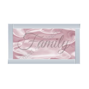 Family Pink Background