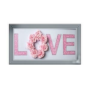 Pink Love with Flowers MMA