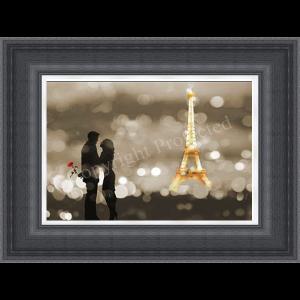 A Date in Paris Black & White