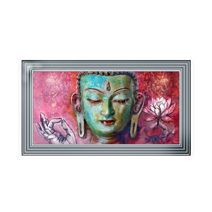 Buddha Spiritual Blue