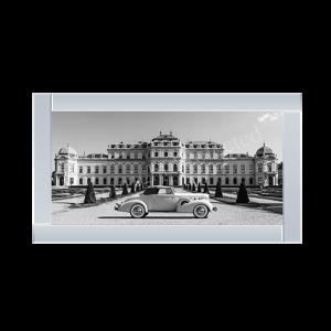 At Belvedere Palace Vienna