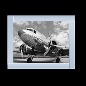 DC-3 in Air Field Arizona