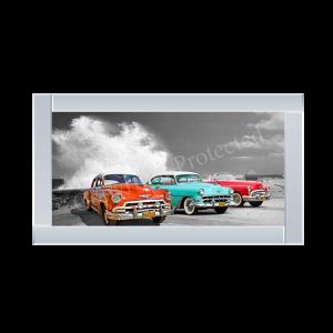 Cars in Avenida de Maceo Havana Cuba